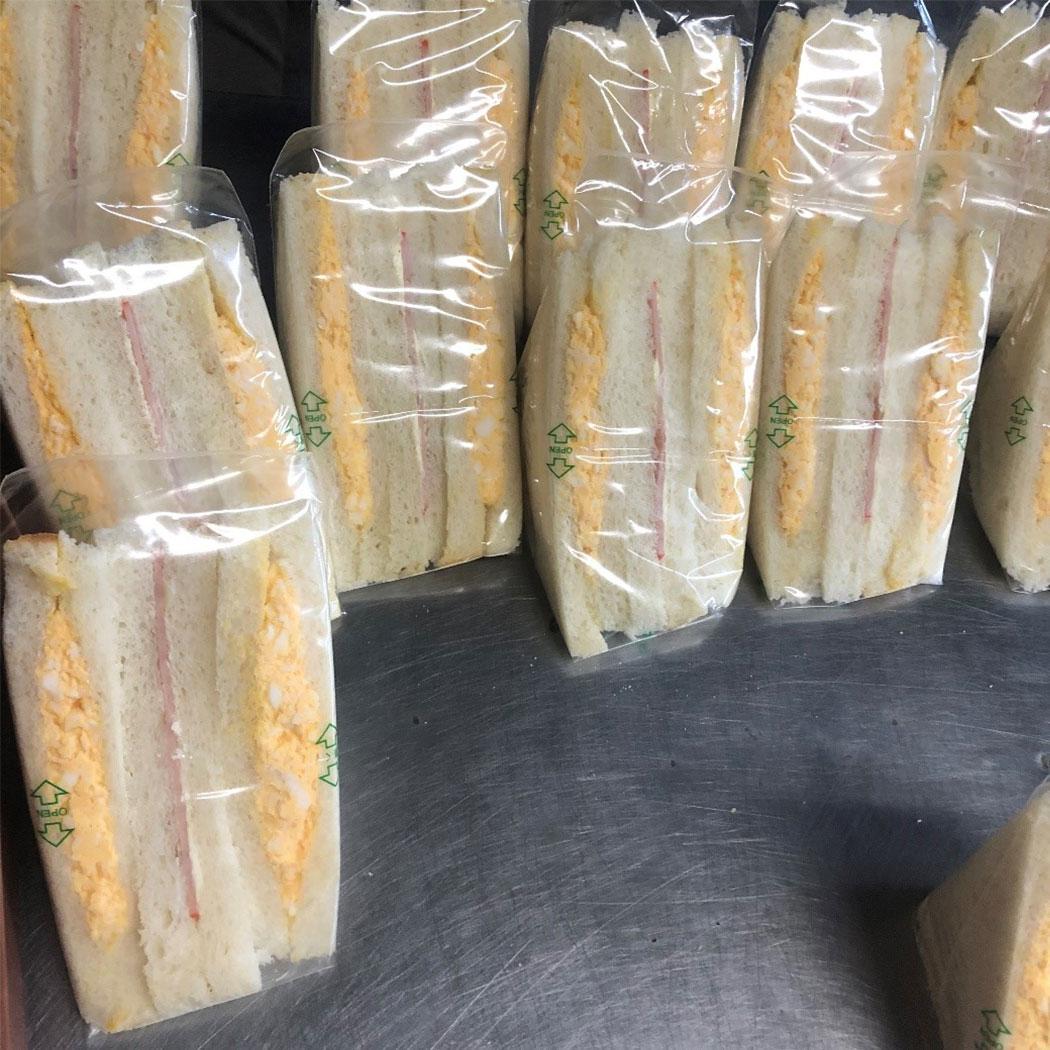加藤パンのサンドイッチ