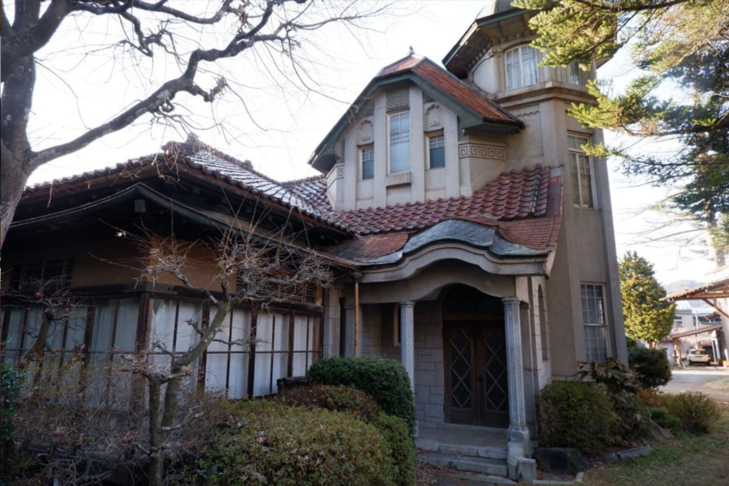 佐瀧別邸の外観