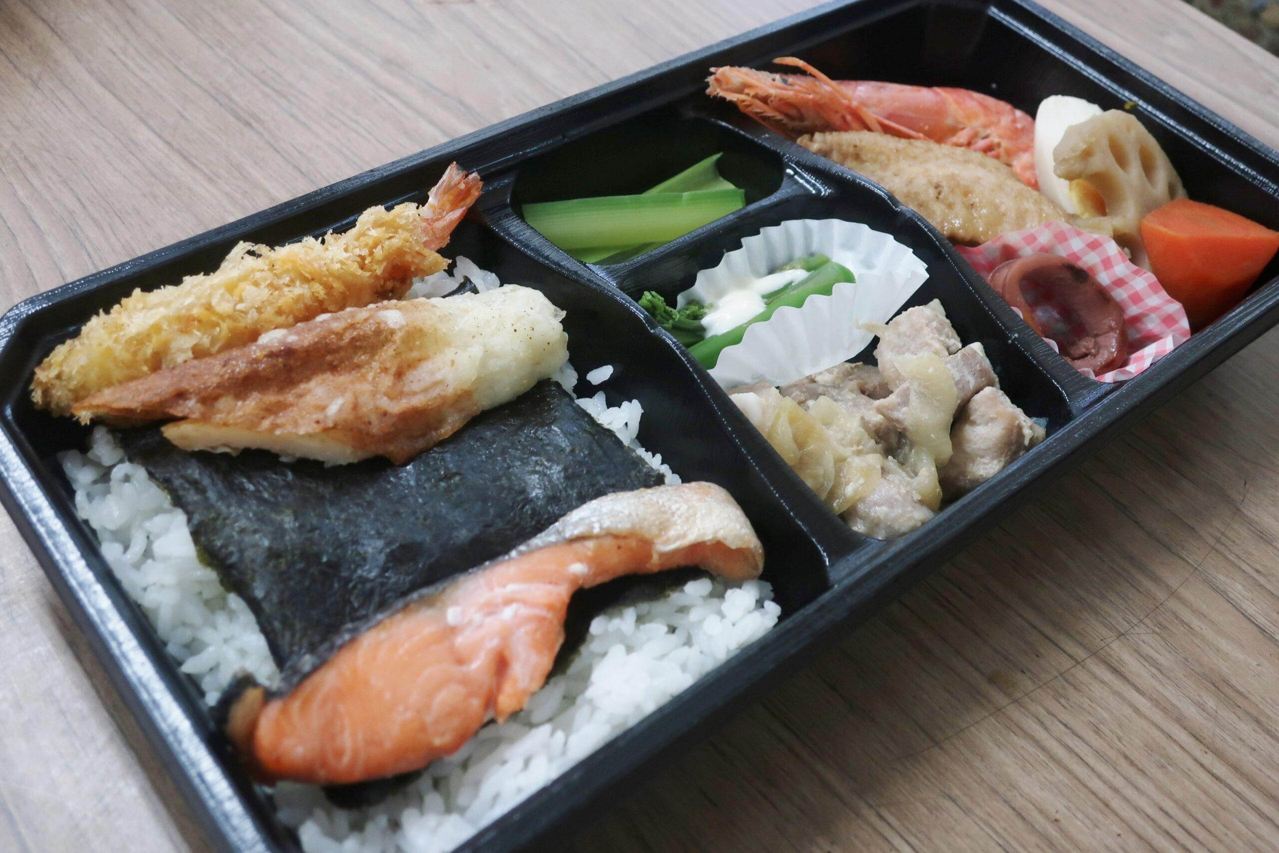田子町の海苔弁当