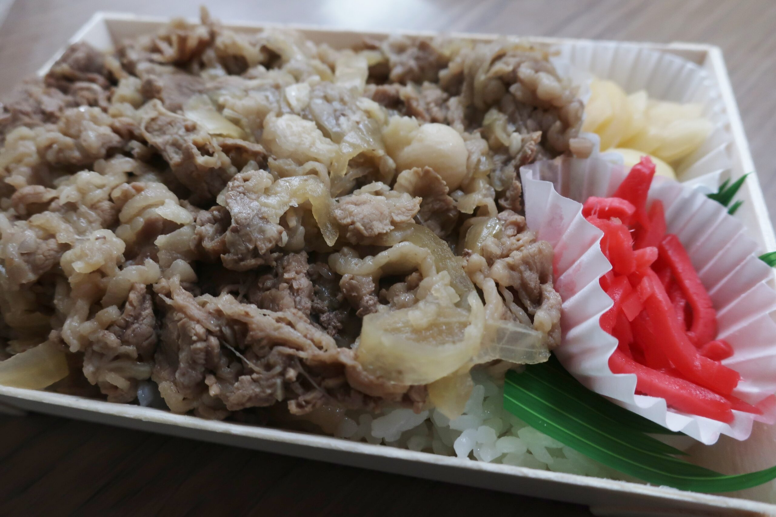 田子牛丼弁当